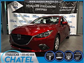 Mazda Mazda3 GS-SKY (TOIT OUVRANT) 2015 **GARANTIE PROLONGÉE MAZDA**