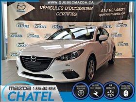 Mazda Mazda3 GX - MANUELLE - A/C - BLUETOOTH - INSPECTÉ 2015