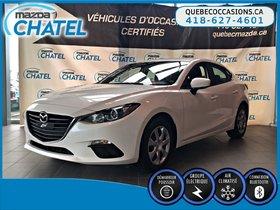 Mazda Mazda3 GX - AUTO - BLUETOOTH - A/C - 2015