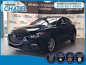 Mazda Mazda3 GX - MANUELLE - BLUETOOTH - A/C 2015