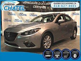 Mazda Mazda3 GS - TOIT OUVRANT - SIEGES CHAUFFANTS - 2015