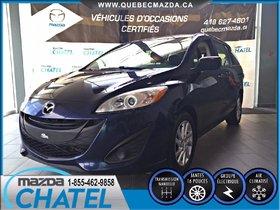 Mazda Mazda5 GS (MANUELLE A/C) 2012 **GARANTIE PROLONGÉE MAZDA JUSQU'AU 15 JUILLET 2018 / 160,000 KM**