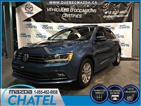 Volkswagen Jetta Sedan COMFORTLINE 2015 **GARANTIE PROLONGÉE VOLKSWAGEN**