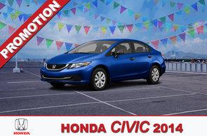 Promotion Civic 2014
