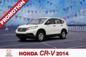 Promotion CR-V 2014