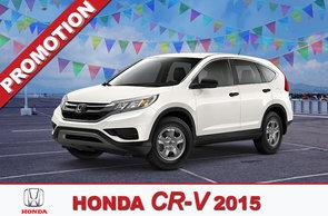 Promotion CR-V 2015