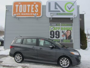 Mazda Mazda5 GT 2017 CUIR+TOIT+SIEGES CHAUFFANT+ 7 PASSAGERS !!