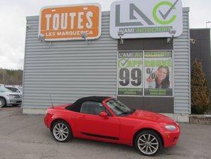 Mazda MX-5 GT 2006 TOIT DHIVER+8 PNEUS+ CUIR+VITRES ELECTRIQUE
