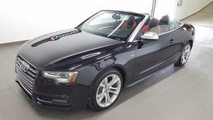 Audi S5 2013 CONVERTIBLE / GARANTIE PROLONGÉE INCLUSE. !!