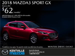 Mazda - Get the 2018 Mazda3 Sport Today!