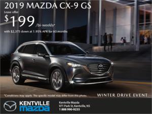 Mazda - Get the 2019 Mazda CX-9 Today!
