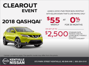 Nissan - Get the 2018 Qashqai Today!