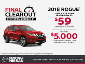 Nissan - Get the 2018 Rogue Today!