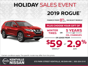 Nissan - Get the 2019 Rogue Today!