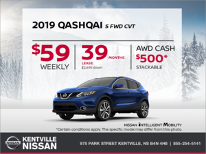 Nissan - Get the 2019 Qashqai Today!