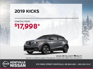 Nissan - Get the 2019 Kicks Today!