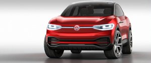Volkswagen showcases I.D. Crozz electric SUV at Los Angeles Auto Show