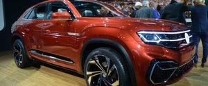 Volkswagen unveils Atlas Cross Sport concept at New York Auto Show
