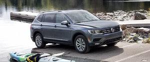 The 2019 Volkswagen Tiguan Trendline in detail