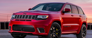 Jeep dévoile le prix du tout nouveau Jeep Grand Cherokee Trackhawk 2018
