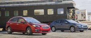 Trois des modèles Subaru 2017 les plus polyvalents