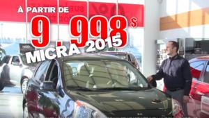 Alma Nissan liquidation 2015