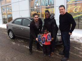 Le 600e client satisfait!!!! de Hyundai Trois-Rivières à Trois-Rivières