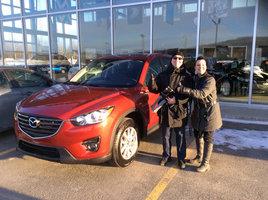Client satisfait de Prestige Mazda à Shawinigan