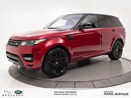 Land Rover Range Rover Sport HST BLACK CONTRAST+NAV ! 2016
