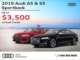 2019 Audi A5 & S5 Sportback