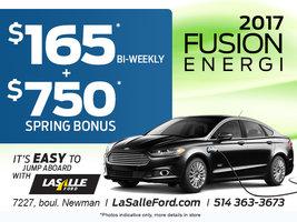 2017 Fusion Energi