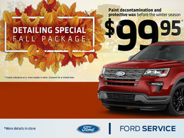 Detailing special Fall Package