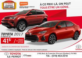 L'événement Bonne Année chez Toyota!