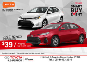 Smart Buy Event at Toyota!
