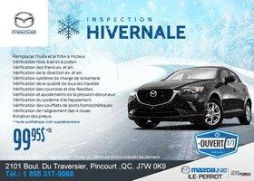 Inspection hivernale chez Mazda 2-20