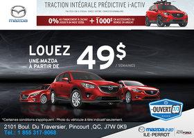 L'événement de vente mensuel chez Mazda!