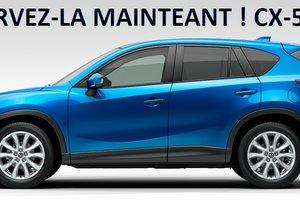 Vivez l'expérience Mazda CX-5 2013 dès aujourd'hui