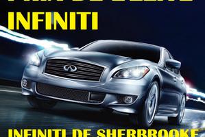 Infiniti de Sherbrooke remporte le prix de l'ÉLITE INFINITI