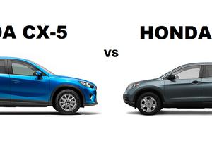 Comparaison de le Mazda CX-5 et le Honda CR-V