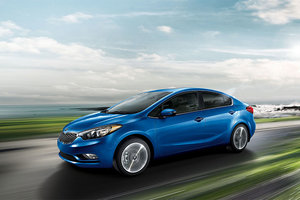 La Kia Forte 2015 obtient une cote de sécurité 5-étoiles selon l'IIHS