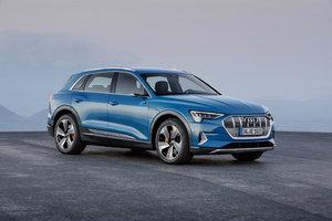 Audi unveils beautiful e-tron Quattro EV SUV