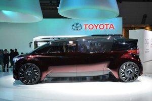 Toyota était occupé au Salon de l'auto de Tokyo