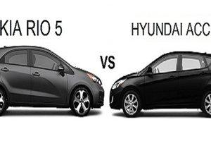 Kia Rio et Hyundai Accent: querelle de jumelles