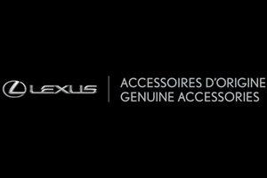 Découvrez la gamme d'accessoires d'origine Lexus à Montréal