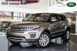 2016 Land Rover Range Rover Evoque SE + Nav !