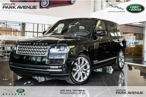 2016 Land Rover Range Rover DIESEL Td6 HSE * Certifié*