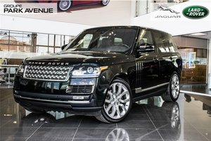 2016 Land Rover Range Rover DIESEL Td6 HSE