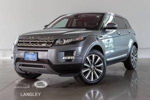 2014 Land Rover Range Rover Evoque PRESTIGE - DRIVER TECH PKG, NAVI, XENON HEADLIGHTS, MERIDIAN AUDIO, HEATED FRONT/REAR SEATS