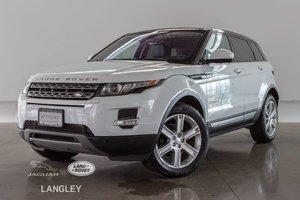 2015 Land Rover Range Rover Evoque PURE PLUS - CPO WARR. TO MAR 2021, ACC. FREE, PREMIUM PKG, DRIVER TECH PKG