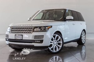 2016 Land Rover Range Rover Td6 HSE - CPO WARR. TO JUNE 2021, NEW BRAKES, DRIVER TECH PKG, CONV. PKG, PREMIUM PKG